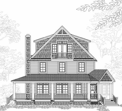 Thornebee Free House Plan Details