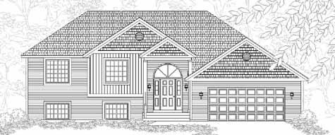 Download Small Raised Ranch House Plans