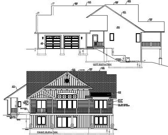 Free House Plans Elevations