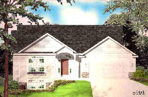 Cute traditional style ranch house plan brentwood for Brentwood house plan