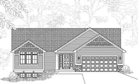 Fascinating traditional style ranch house plan chadwick for Chadwick house plan