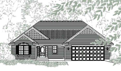 Lovable traditional style ranch house plan chatham for Chatham house plans