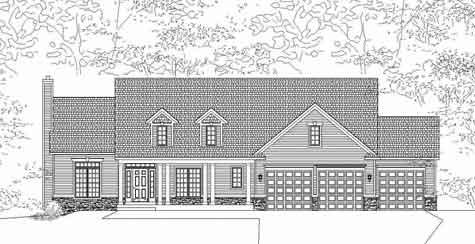 Captivating Traditional Style Ranch House Plan Cotswold