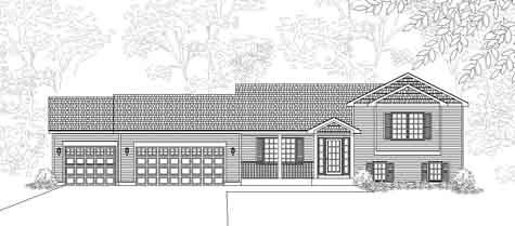 Tri level homes plans house design plans for Holland house design