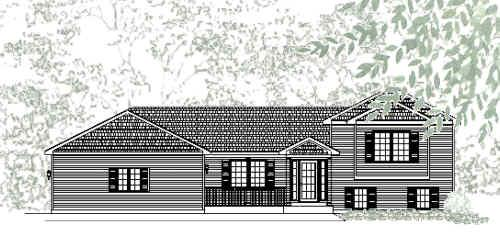 Tri level house plans home design and style for Holland house design