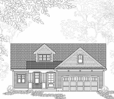 Inviting Traditional Style Ranch House Plan Melbourne