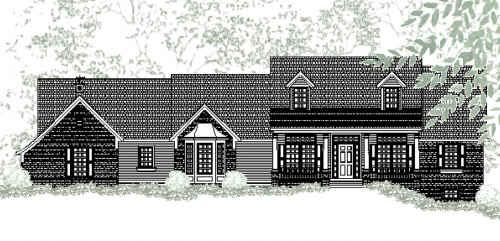 Nantucket House Plan - 1939 - House Plans | Home Plans | Floor