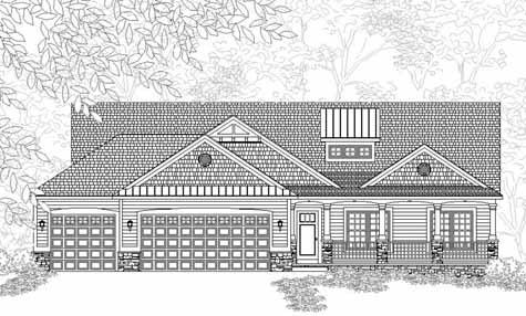 Gorgeous Traditional Style Ranch House Plan Richmond | LONG HAIRSTYLES