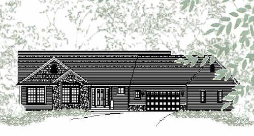 Delightful Traditional Style Ranch House Plan Portland