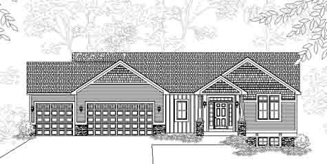 Lovable Arts And Crafts Style Ranch House Plan Portsmouth