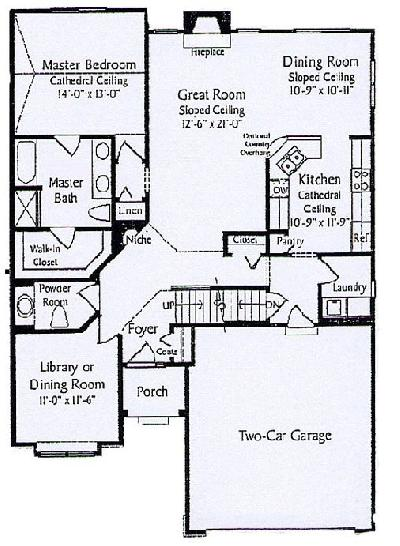 Story and a half house plans home design and style for Story and a half floor plans