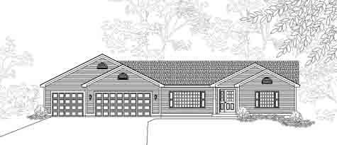 Ridgewater House Plan Details