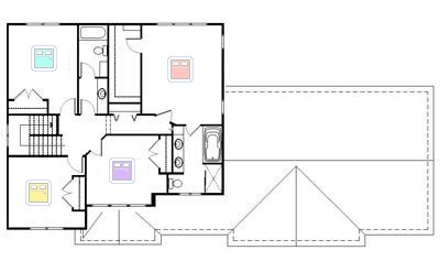 House Plans Second Floor