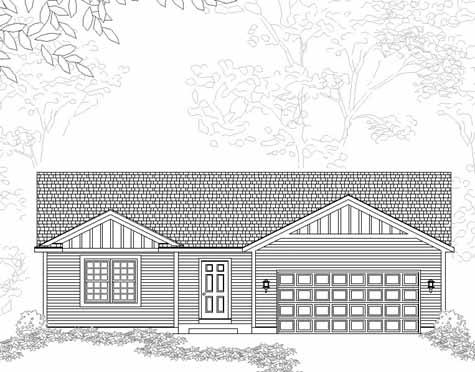 Beckworth House Plan Details