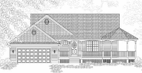 Faulkner House Plan Details