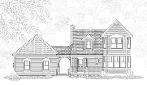 Glendower House Plan Details